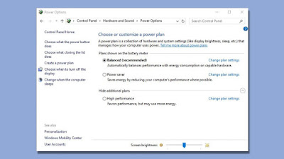 Cara Mengatur Power Plan Windows 10