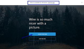 تطبيق واير Wire للمحادثات في آخر تحديثاته يضيف خاصية مشاركة الشاشة مع المتصل