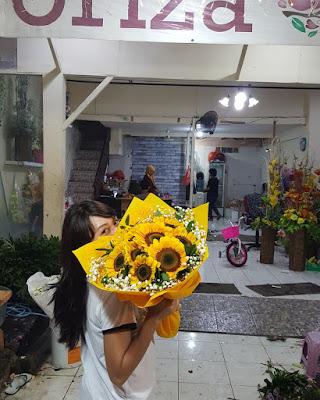 harga bunga matahari di kayoon surabaya, jual bunga matahari surabaya, beli bunga matahari di surabaya