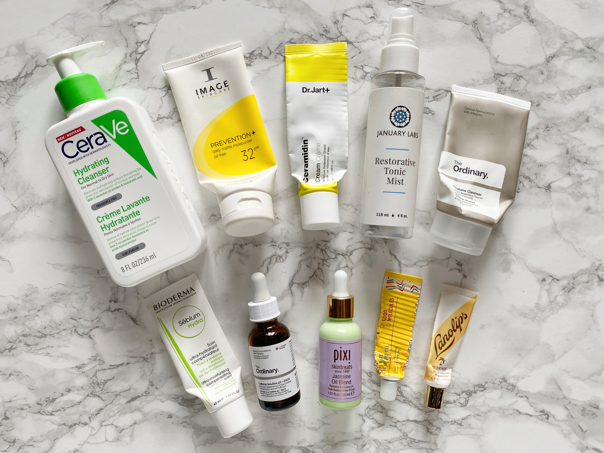 skincare empties review