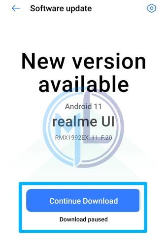 Continue Download