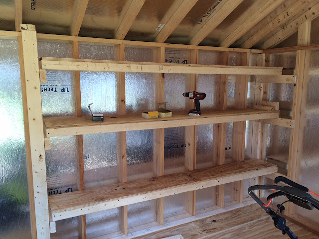 Diy Storage Shelving For Our Shed Diy Danielle