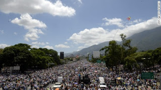 VIOLENT ERUPT AS VENEZUELA PROTEST HIT 50 DAYS