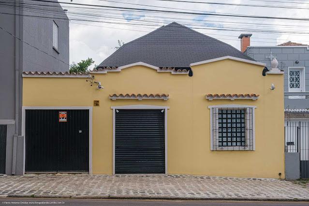 Uma fachada preservada na Rua José de Alencar