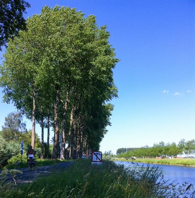 1000 Kilometer Radrouten in Flandern, Niederlande