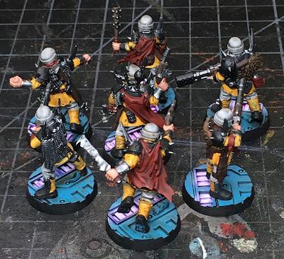 Blackstone Fortess Traitor Guardsmen WIP