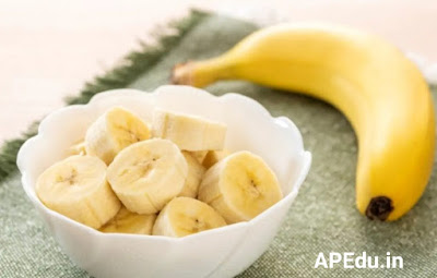 Check like this with a banana for a growing stomach!