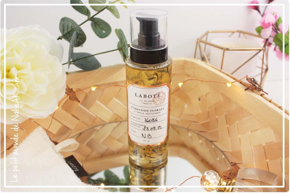 huile nettoyante florale