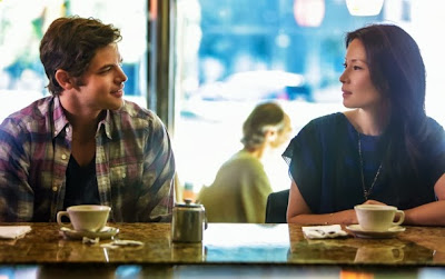 Lucy Liu and Jeremy Jordan as Joan Watson and Joey Castoro in CBS Elementary Season 2 Episode 2 Solve For X