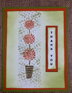 Vertical Greetings, Timeless Textures,Topiary, Card