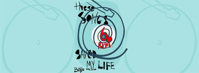 60 Songs That Saved My Life - Bono Vox (U2) partilha as 60 musicas predilectas dele connosco!