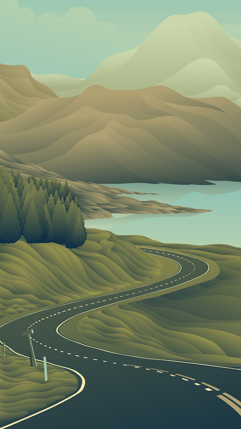 Con đường đẹp