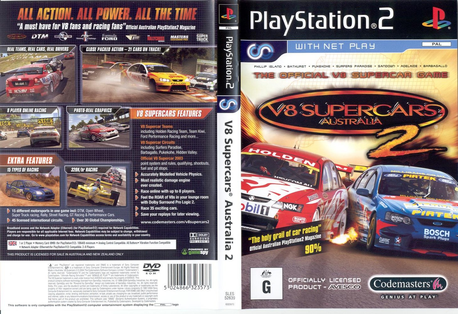 Supercars Gallery V8 Supercars Game Xbox 360