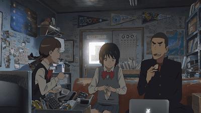 ada kubus rubik di anime kimi no na wa your name
