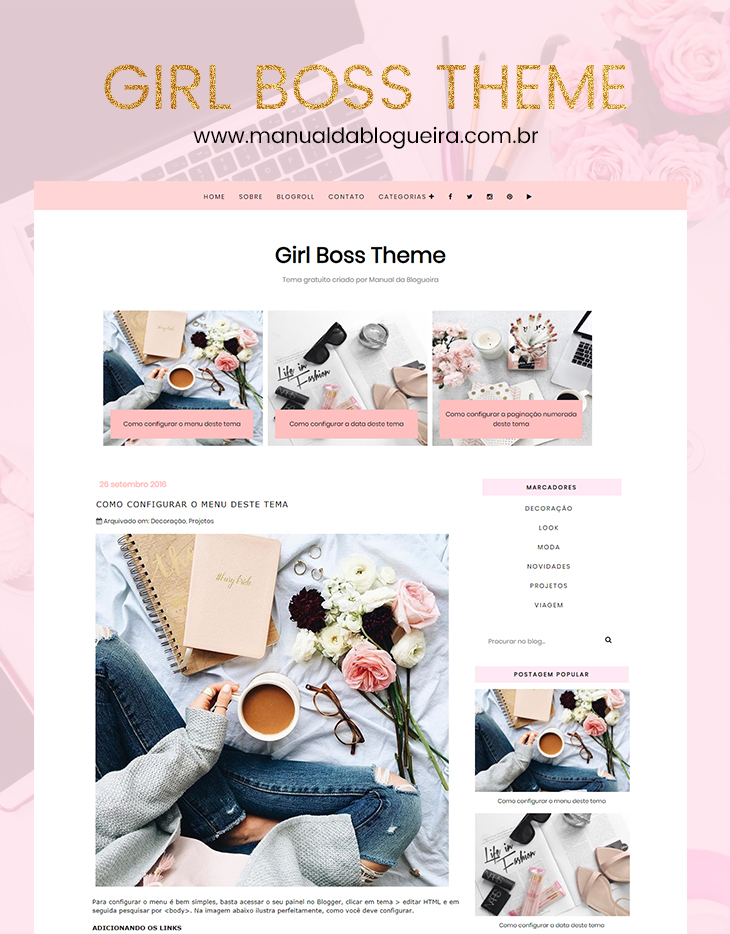 template free blogger