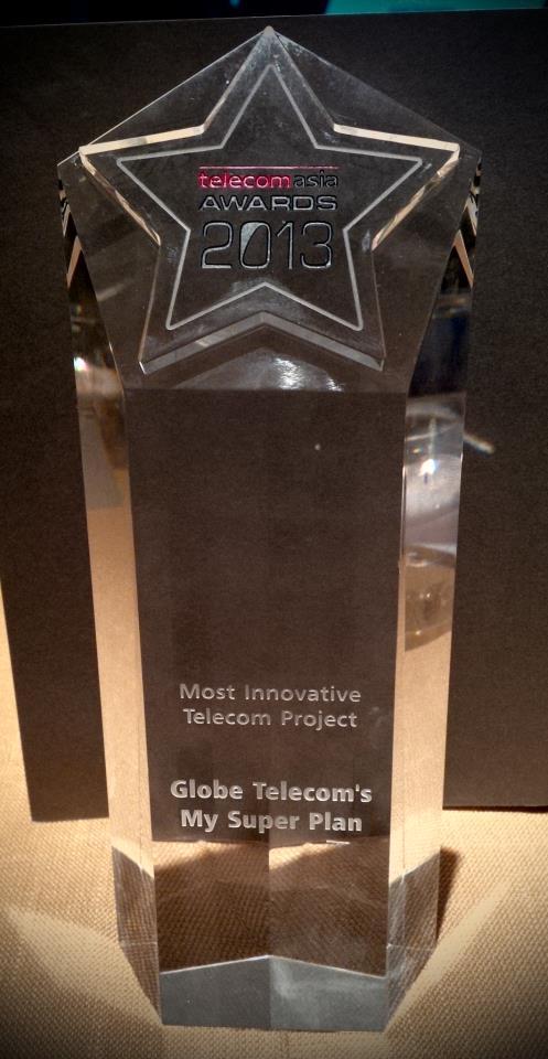 Globe Telecom's Most Innovative Telecom Project - mySUPERPLAN