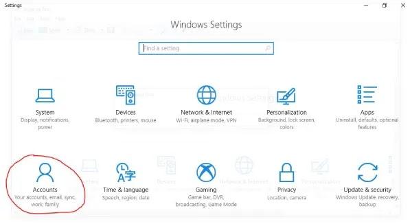cara menghapus password windows 10
