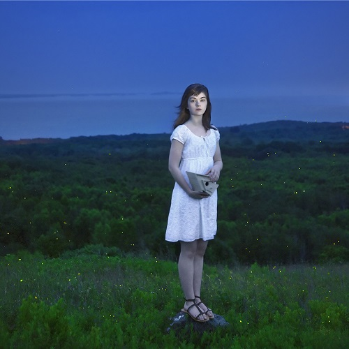 "imagenes de arte, bellas, retrato, fotos cool, por Cig Harvey - ""Devin & The Fireflies"", 2010."