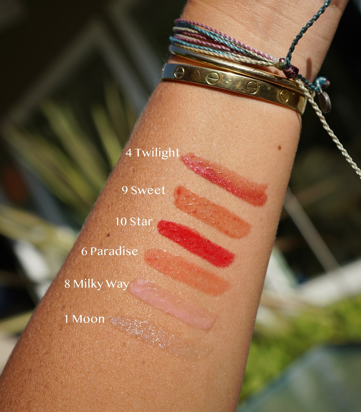 Sisley-Paris Le Phyto-Gloss swatches