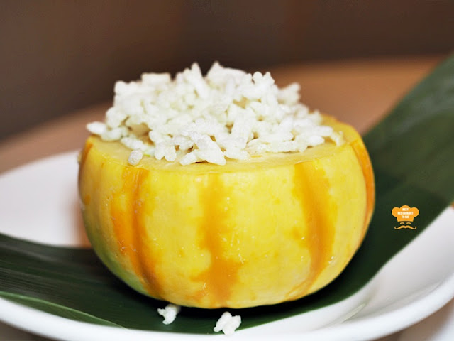 Annual Chef Event Baked Rice With Cheese & Crispy Rice In Baby Pumpkin