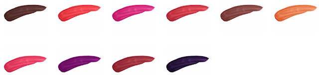teeez cosmetics material girl lipstick swatches purple vogue