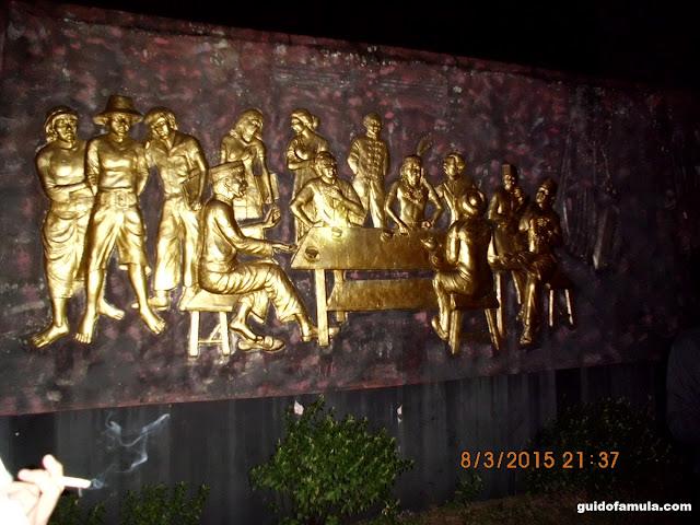 Makna relief makam juang mandor