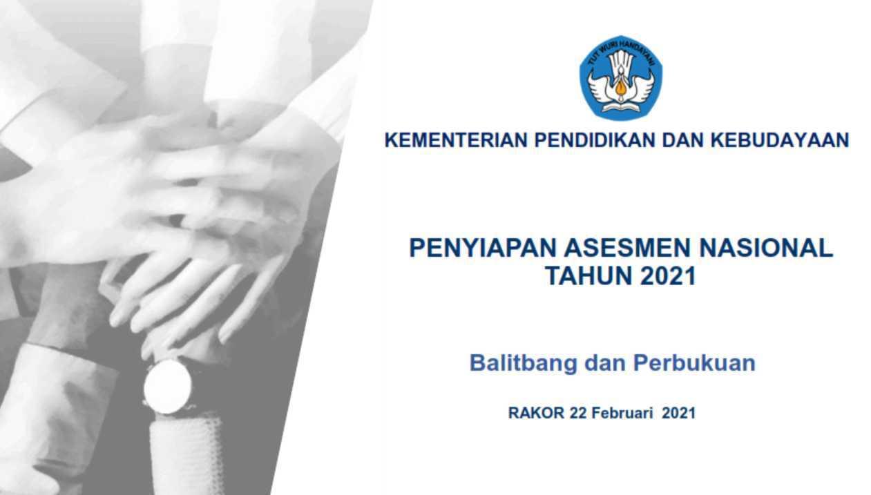 Paparan Rakor Assesment Nasional (AN) Tahun 2021