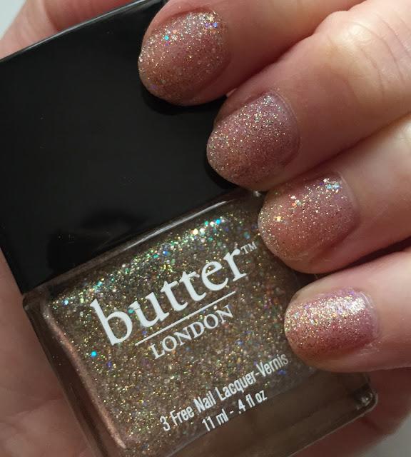butter LONDON, butter LONDON Tart With A Heart, nails, nail polish, nail lacquer, nail varnish, manicure, #ManiMonday
