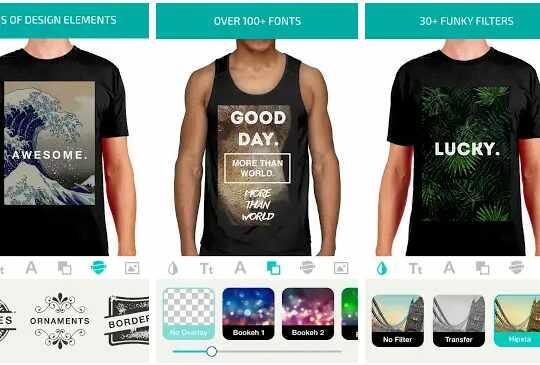 aplikasi Design Clothes – Shirt Designer & Clothes Desighner