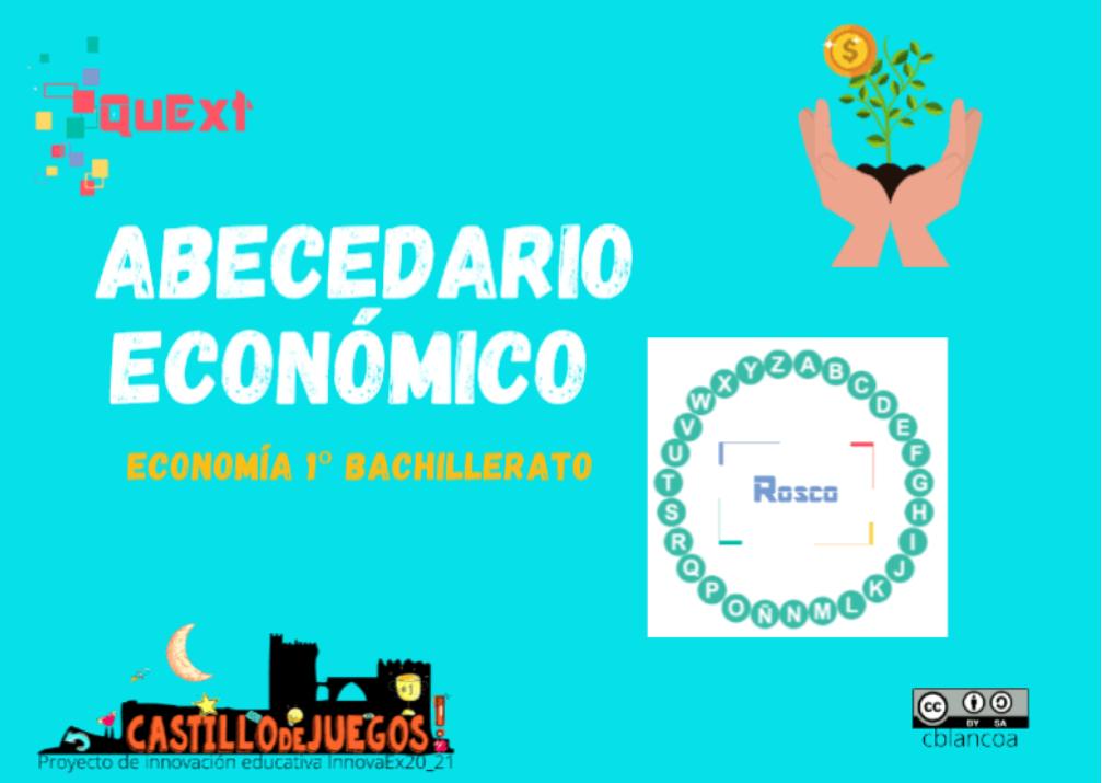 """Rosco """"pasapalabra"""" para Economía de 1º de Bachillerato"""