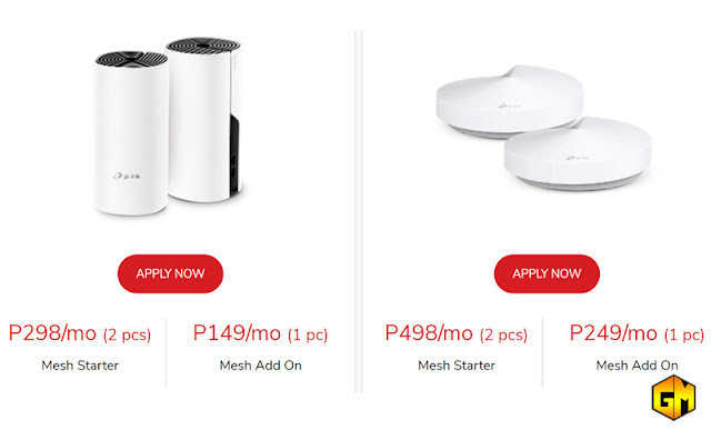 PLDT Home TPLink WiFi Mesh