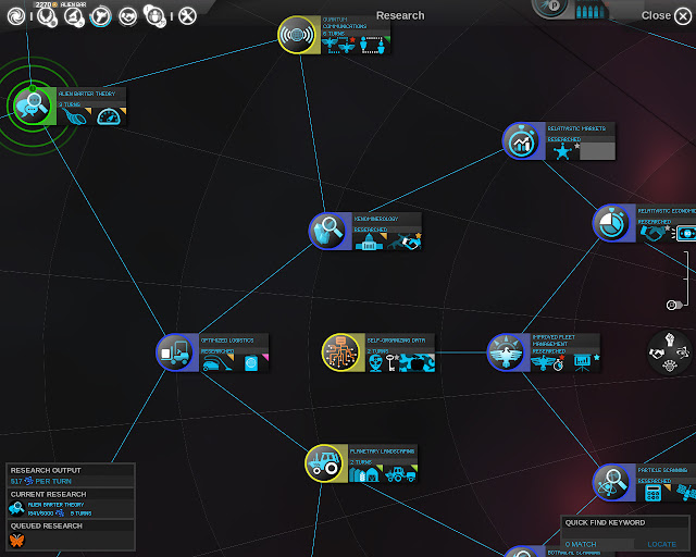 Research Tree | Endless Space Game Screenshot