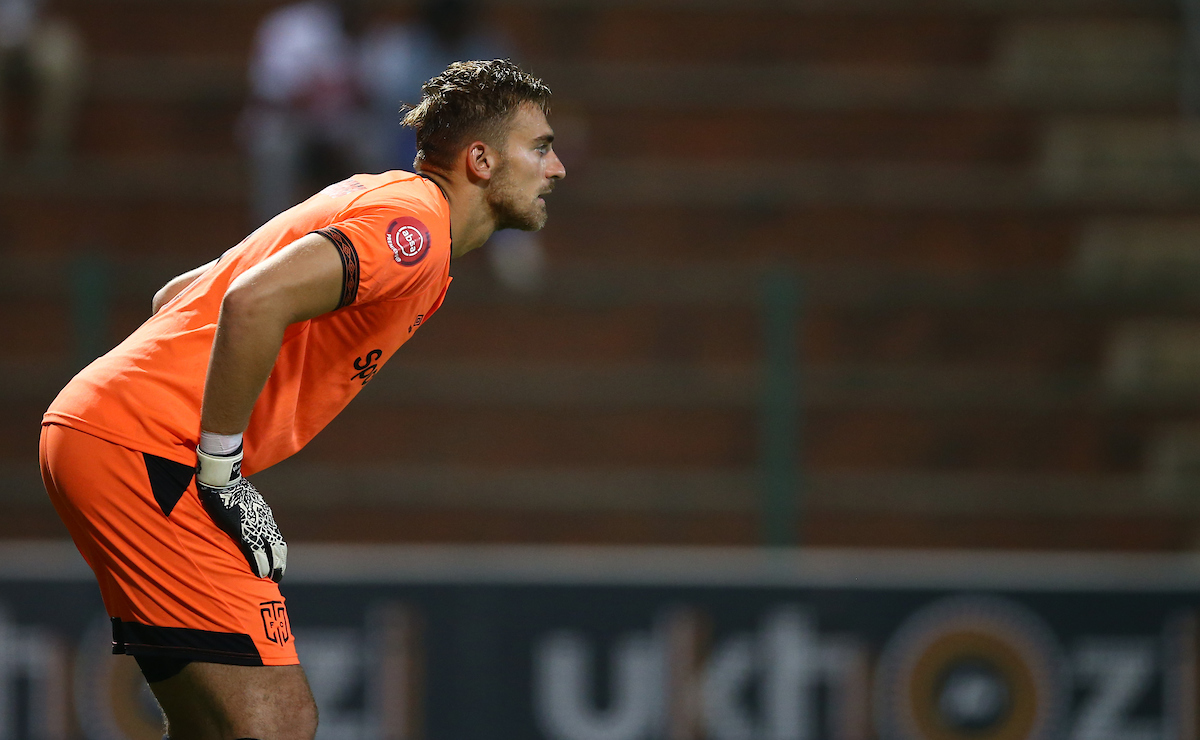 Cape Town City goalkeeper Peter Leeuwenburgh