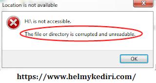 Disk tertentu tidak bisa diakses