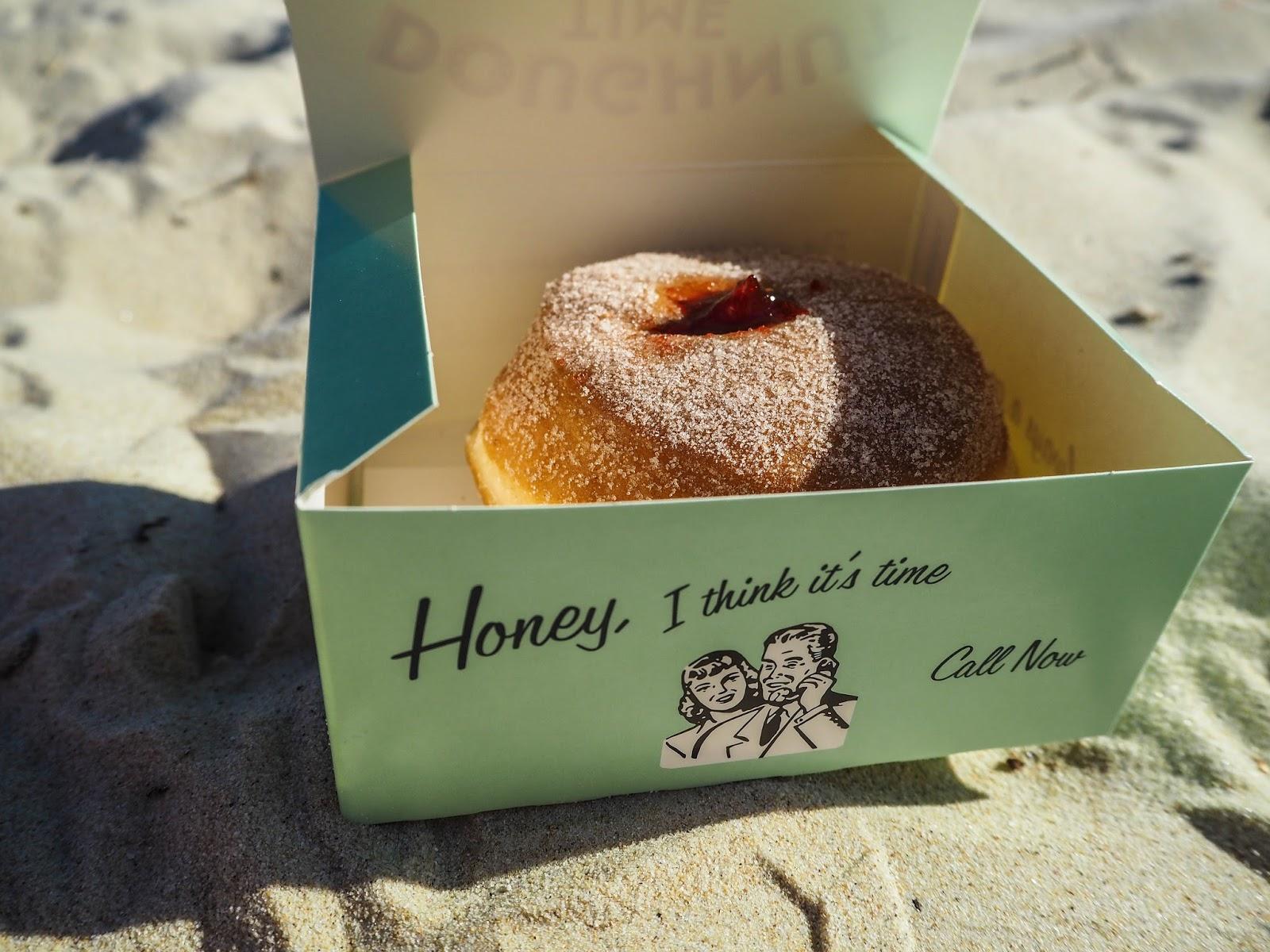 Doughnut Time jam doughnut