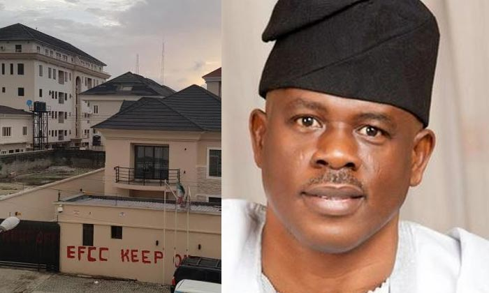 Photos of Obanikoro's house searched and sealed by EFCC
