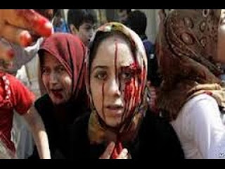 Kekejaman Rezim Syiah Suriah: Wanita Sunni Diperkosa & Ditelanjangi