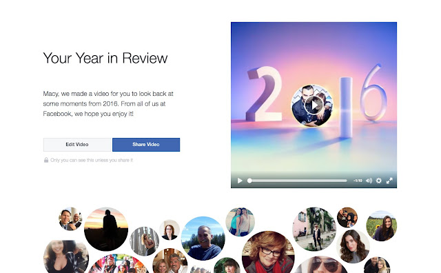 Year in Review - Ayo Buat Video KenanganMu Sepanjang Tahun 2016