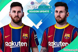 Lionel Messi New Face - PES 2021