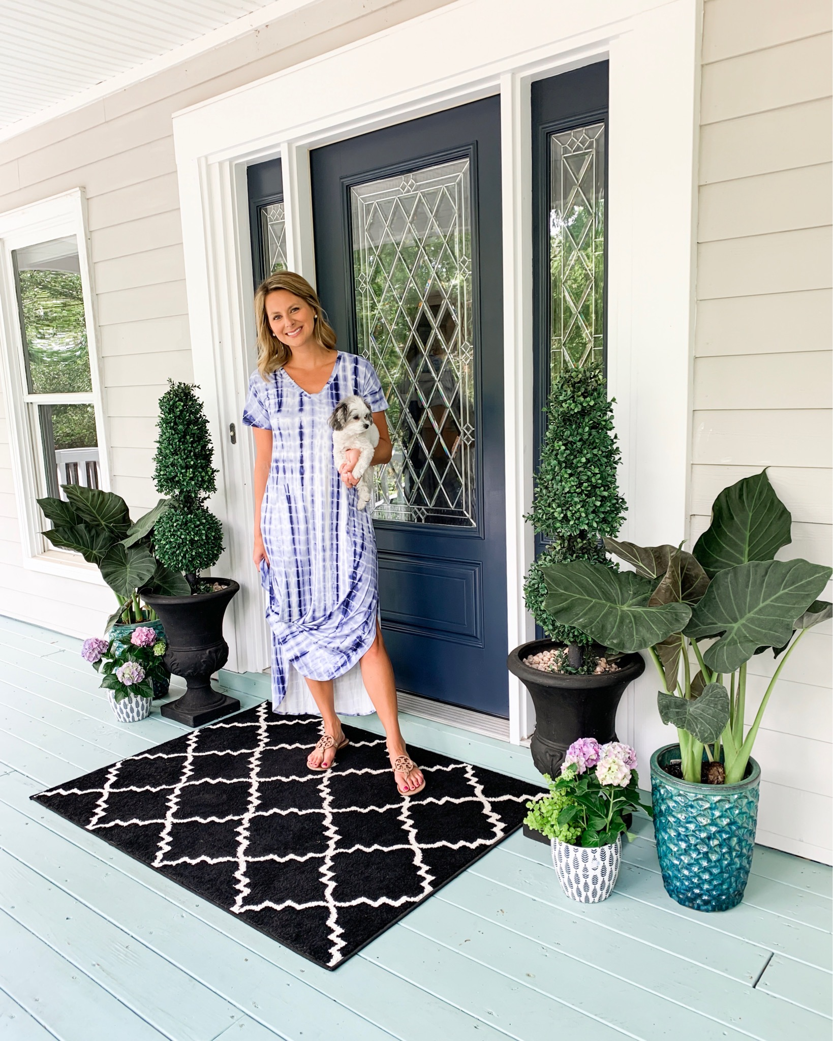 Spring Front Porch Refresh