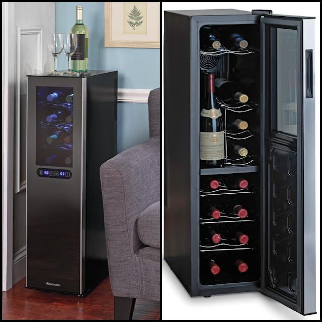 Hammacher Schlemmer Ultra Slim Wine Refrigerator