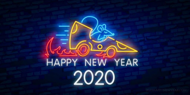 New Year 2020 Greeting Cards