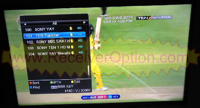 LGX-5100 HD RECEIVER TEN SPORTS OK NEW SOFTWARE