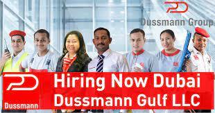 Dussmann Gulf LLC Recruitment Engineers, Technicians and Operator For Dubai
