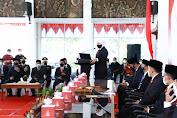 Sertijab Bupati dan Wabup Pacitan, Gubernur Khofifah Minta Fokus Penguatan Sektor Pertanian, Perikanan, Wisata  dan Pendidikan Vokasi