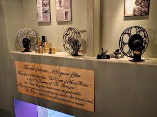 Display of equipment at Elks Theater in Rapid City, South Dakota