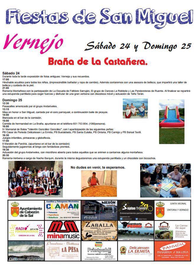 Fiestas de San Miguel en Vernejo, Bra�a de la Casta�era