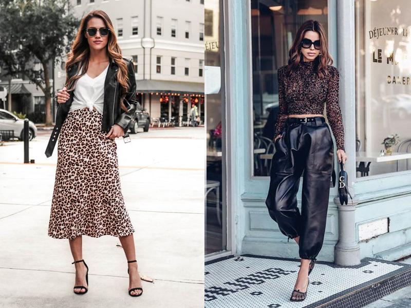 С чем носить леопардовый принт