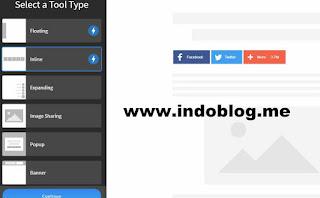 Cara Membuat Tombol Berbagi Artikel Keren di Blogspot Terbaru 2019