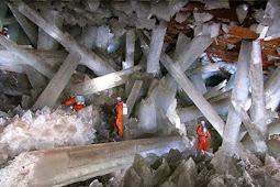 Goa bawah tanah penuh dengan kristal ditemukan di Meksiko